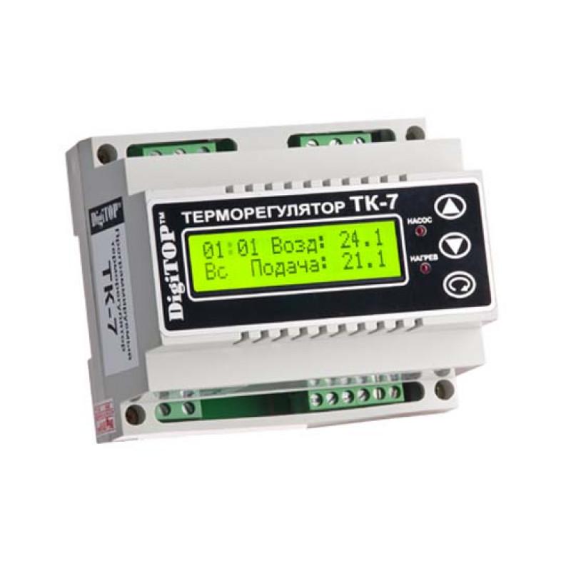 Цифровой электрический терморегулятор
